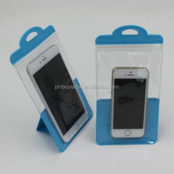 PVC Stand Waterproof Cellphone Waterproof Bag
