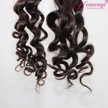 Homeage factory price human hair grade brazilian deep curl hair weaving