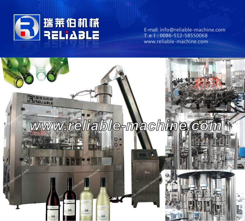 glass bottle juice making machine