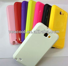 Candy Soft Rubber TPU case cover for Samsung Galaxy Note i9220 N7000 Case