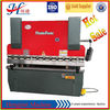 New European Standard MB8-100T /2500 Metal Sheet bending machine With Delem DA69t CNC System