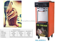 Cooling faster commercial soft yogurt ice cream machine for sale
