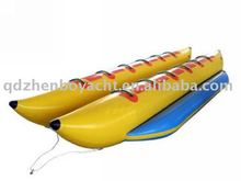 12 persons double tube Inflatable banana boat