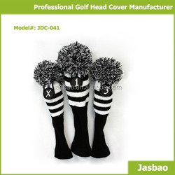 Custom Knitted Golf Club Head Covers