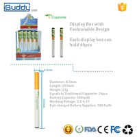 iBuddy D300 Portable Cheap Disposable e Cigarette Atomizer Wholesale