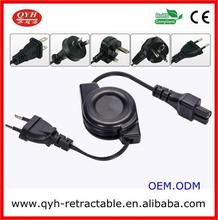 European standard retractable Home Appliance power cord reels for vacum cleaner