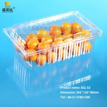 best quality PET clamshell fruit tray SGL-52