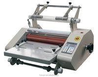 Anti-curl laminator machine FM360S for A4 size paper