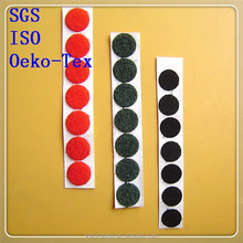 Adhesive hook and loop adhesive circle velcro dots