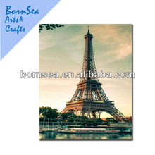eiffel tower digital picture photograph canvas art printing wall art