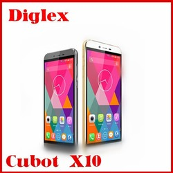 Cheap Smartphone Cubot X10 Android4.4 MTK6592 2GB+16GB 5.5INCH Mobile Phone Play store WIFI