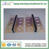 Rubber insert brass material movement joint