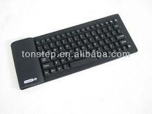 2012 Hot selling 108 key flexible bluetooth keyboard