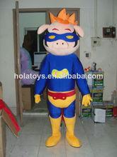 Disfraces de cerdo/animal traje de la mascota para la venta