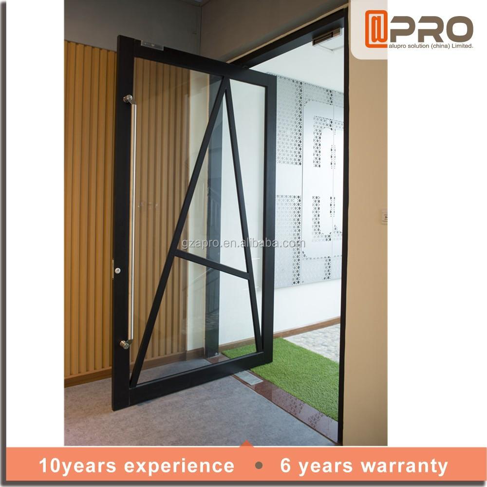 Anodized Aluminium Alloy Entrance Main Hinge Front Door
