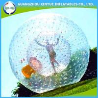 PVC/TPU good quality walk in plastic bubble ball