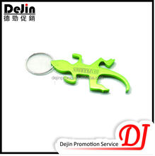 Cheap colorful aluminum bottle opener keyring