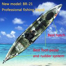2015 New model kayak / fishing kayak / kayak with pedals