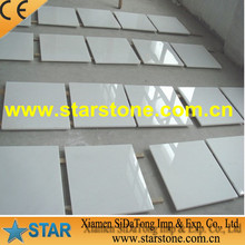 hot selling pure white marble