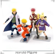 Hot selling cartoon character anime naruto action figure