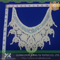 82044 Designs High quality Embroidery Chemical manufacture Cotton Collar lace african net lace fabric