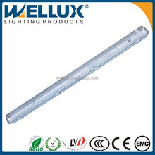 High Quality 1.2m 2x36w IP65 Waterproof Fluorescent Light Fixture With CE Rohs