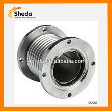 SS304,316L,316felx Axial Type Metallic Expansion Joint - Fixed Flanged