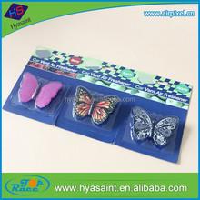 Butterfly shape gel air freshener for car