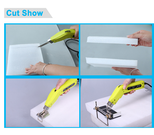 High power industrial carving hot knife electric foam cutter