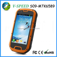 S09-MTK6589waterproof cell phone case OEM cheap rugged waterproof cell phone