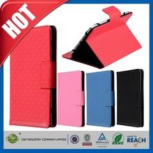 C&T Elegant flip folio cover for ipad air smart leather case