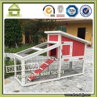 Commercial Cheap Wooden Rabbit Hutch