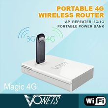 VONETS 300mbps Wifi router Magic 4g wireless power bank New arrival