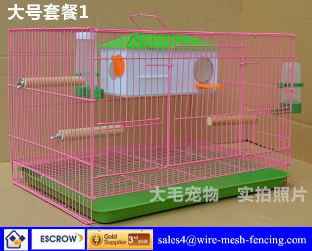 Big Pet Birds Wire Pet Bird Cage