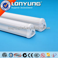 low color shift led t8 integrated 4 foot fluorescent light fixture SAA CE DLC ETL approval 3 years warranty