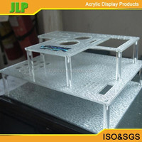 2015 JLP detachable acrylic cosmetic display,plastic lipstick holder