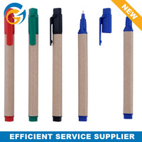 Promotional Recycled Paper Color Ink Ball Pen