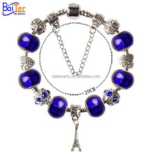 2015 Newest Colorful Murano Glass Beads Bracelet Wholesale