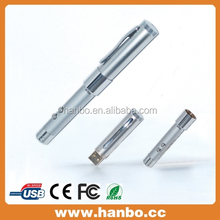 promotional usb ballpoint pen 1gb with led light