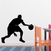 ZOOYOO basketball star wall stickers NBA frame custom paintings the most popular basketball wall decorations (8294)