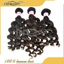 Top Quality Loose Wave 100% Virgin Malaysian Hair Micro Fiber Hair Extensions