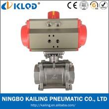 3 pcs double acting pneumatic actuator