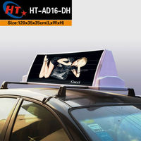Customized advertising light boxes led car top signs