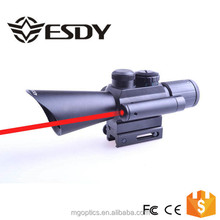 2015 New Arrival Hunting 4X30 Red/Green Dot Laser Scope Sight