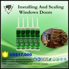 Installation and sealing for doors and windows mould-proof silicone sealant