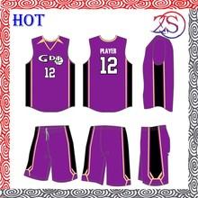 girl youth basketball uniform/latest basketball jersey design