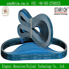 deerfos abrasive belt for steel and metal