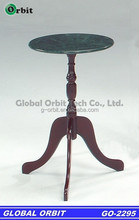 American style antique marble table with marble top