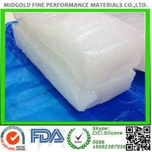 High strength molding or extrusion silicone rubber for kitchenware