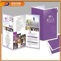 Paper Weight For Advertising Folder Low Price Brochure